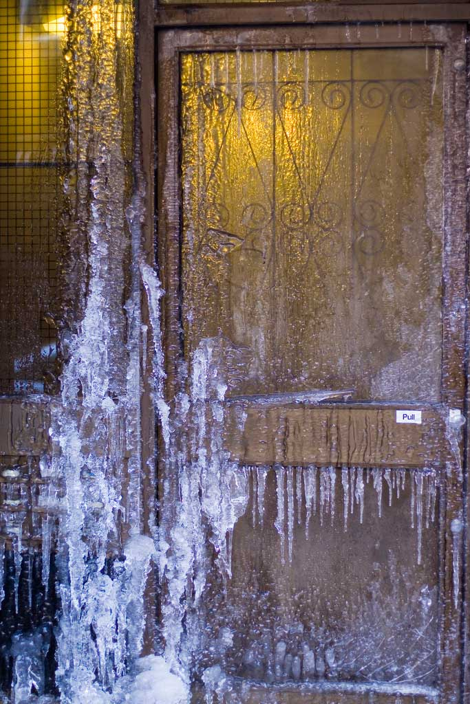 Burst pipes from unheated homes can cause thousands of dollars in costly repairs.  Photo credit: Graeme Maclean,
