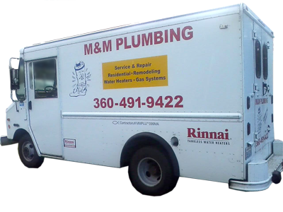 M&M Plumbing Van, Olympia, Washington